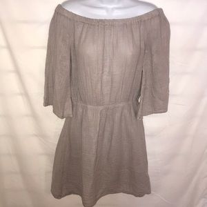 NWT Michael Stars Oyster colored small dress.